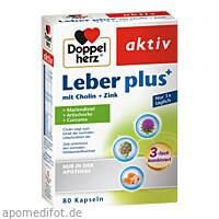 Doppelherz Leber Plus mit Cholin+Zink, 80 ST, Queisser Pharma GmbH & Co. KG