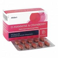 atida+ D-Mannose + Cranberry, 60 ST, IVC Pragen GmbH