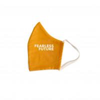 Bio Mund Nasen Maske Fearless Future orange, 1 ST, PHYNE GmbH