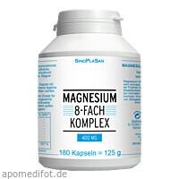 Magnesium 8fach Komplex 400 mg, 180 ST, Sinoplasan AG