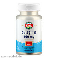 Coenzym Q-10 100 mg, 30 ST, Supplementa Corporation B.V.