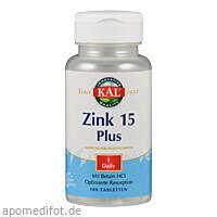 Zink 15 Plus, 100 ST, Supplementa Corporation B.V.
