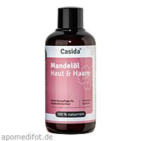 Mandelöl Haut & Haare naturrein, 200 ML, Casida GmbH & Co. KG