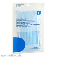 Atemschutzmaske 3-Lagen Medizinisch, 5 ST, DK medical GmbH