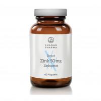 ZINK 50MG ZINKACETAT DEPOT SHANAB, 60 ST, shanab pharma e.U.