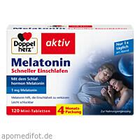Doppelherz Melatonin, 120 ST, Queisser Pharma GmbH & Co. KG