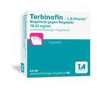 Terbinafin - 1 A Pharma Nagellack gegen Nagelpilz, 3.3 ML, 1 A Pharma GmbH