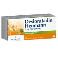 Desloratadin Heumann 5 mg Filmtabletten, 10 ST, Heumann Pharma GmbH & Co. Generica KG