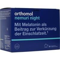 Orthomol Nemuri night, 30X10 G, Orthomol Pharmazeutische Vertriebs GmbH