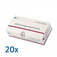 Antigen COVID-19 Schnelltest Beier, 20 ST, Medi Helvetia AG