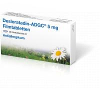 Desloratadin-ADGC 5 mg Filmtabletten, 20 ST, Zentiva Pharma GmbH