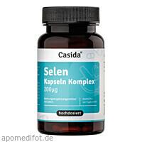 Selen Kapseln Komplex 200 ug hochdosiert, 180 ST, Casida GmbH & Co. KG