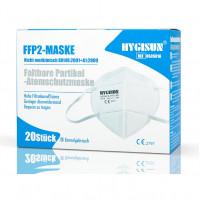 Hygisun FFP2 Maske, 20 ST, Sanopharm Arzneimittelvertriebs GmbH