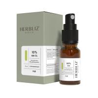HERBLIZ CBD Mundspray 10 % Zitronenminze, 10 ML, Mediakos GmbH