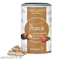 MACA BIO VEGICAPS MIT BIO ACEROLA PULVER, 60 G, Amazonas Naturprodukte Handels GmbH