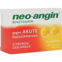 neo-angin Benzydamin akute Halsschmerzen Zitrone, 40 ST, MCM KLOSTERFRAU Vertr. GmbH