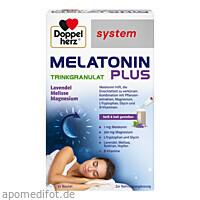 Doppelherz Melatonin Plus Trinkgranulat system, 30 ST, Queisser Pharma GmbH & Co. KG