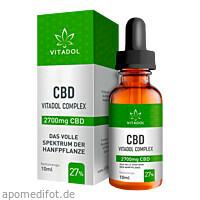 CBD27% Bio Hanfextrakt Öl - Vitadol Complex, 10 ML, Endower GmbH