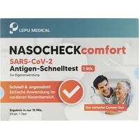 Lepu NASOCHECK comfort Antigenselbsttest, 1 ST, MPV Medical GmbH