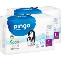 Bio Windeln New Born Jumbo 2-5kg Pinguin - PINGO, 54 ST, Don Dandrea Deutschland AG