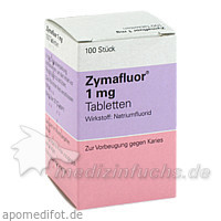 Zymafluor® 1 mg, 100 St, MEDA Pharma GmbH & Co.KG