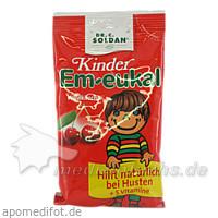 Kinder Em-Eukal Hustenbonbons Wildkirsche mit Vitaminen, 75 g, MERZ