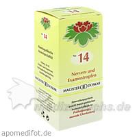 Nr. 14 Nerven- und Examentropfen, 50 ml, Magister Martin Doskar pharm. Produkte e.U.