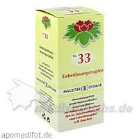 MAGISTER DOSKAR Nr. 33 Entwöhnungstropfen, 50 ml, Magister Martin Doskar pharm. Produkte e.U.