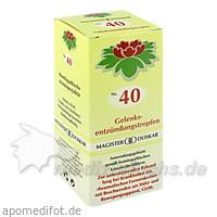 MAGISTER DOSKAR Nr. 40 Gelenksentzündungstropfen, 50 ml, Magister Martin Doskar pharm. Produkte e.U.