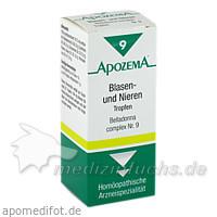 APOZEMA® Blasen- und Nieren Tropfen Belladonna complex Nr. 9, 50 ml, Apomedica Pharmazeutische Produkte GmbH