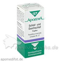 APOZEMA® Schlaf- und Durchschlaf-Tropfen Nr. 27, 50 ml, Apomedica Pharmazeutische Produkte GmbH