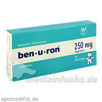 ben-u-ron® 250 mg, 5 ST, Sigmapharm Arzneimittel GmbH