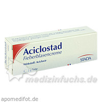Aciclostad Fieberblasencreme, 2 g, STADA Arzneimittel GmbH