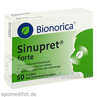 Sinupret® forte Dragees, 50 ST, Bionorica Austria GmbH