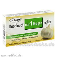 Dr. Böhm® Knoblauch nur 1 Dragee täglich, 30 St, Apomedica Pharmazeutische Produkte GmbH