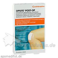 OPSITE Post-OP Duschpflaster 6,5 cm x 5 cm, 5 Stk., Smith & Nephew GmbH