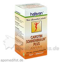 Hafesan Carotin Sonnenbraun Plus Kapseln, 60 Stk., REFORM U DIAETPRODUKTE