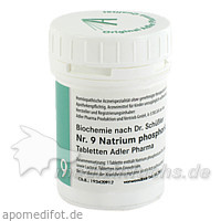 Schüßler Salz Nr. 9 Natrium phosph., 100 g, Adler Pharma Produktion und Vertrieb GmbH