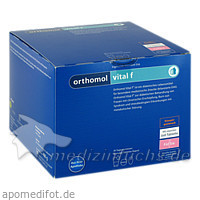 Orthomol vital F granulat orangengeschmack, 30 Stk.,