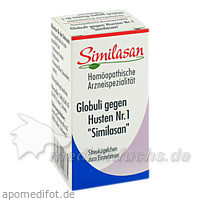 Similasan Globuli gegen Husten Nr. 1, 15 g, Jacoby GM Pharma GmbH