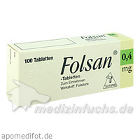 Folsan® 0,4 mg, 100 St, Teofarma S.R.L.