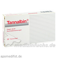 Tannalbin®, 30 St, Medicopharm GmbH