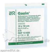 Gazin sterile Mullkompressen 8-fach 10 x 10 cm, 2 Stk., Lohmann & Rauscher GmbH & Co. KG
