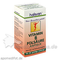 Hafesan Vitamin B+folsauere Kapseln, 60 Stk.,