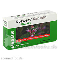 Nosweat® Kapseln, 60 St, MEDA Pharma GmbH & Co.KG