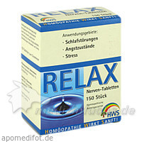 Relax Nerven-Tabletten, 150 St, HWS-OTC Service GmbH