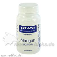 Pure encapsulations Kapseln Mangan Citrat, 60 Stk.,