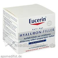 Eucerin HYALURON-FILLER Nachtpflege, 50 ml, BEIERSDORF G M B H