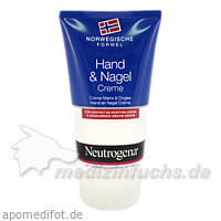Neutrogena Hand und Nagel Creme, 75 ml,