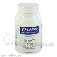 Pure encapsulations Kapseln Energy Xtra, 60 Stk.,